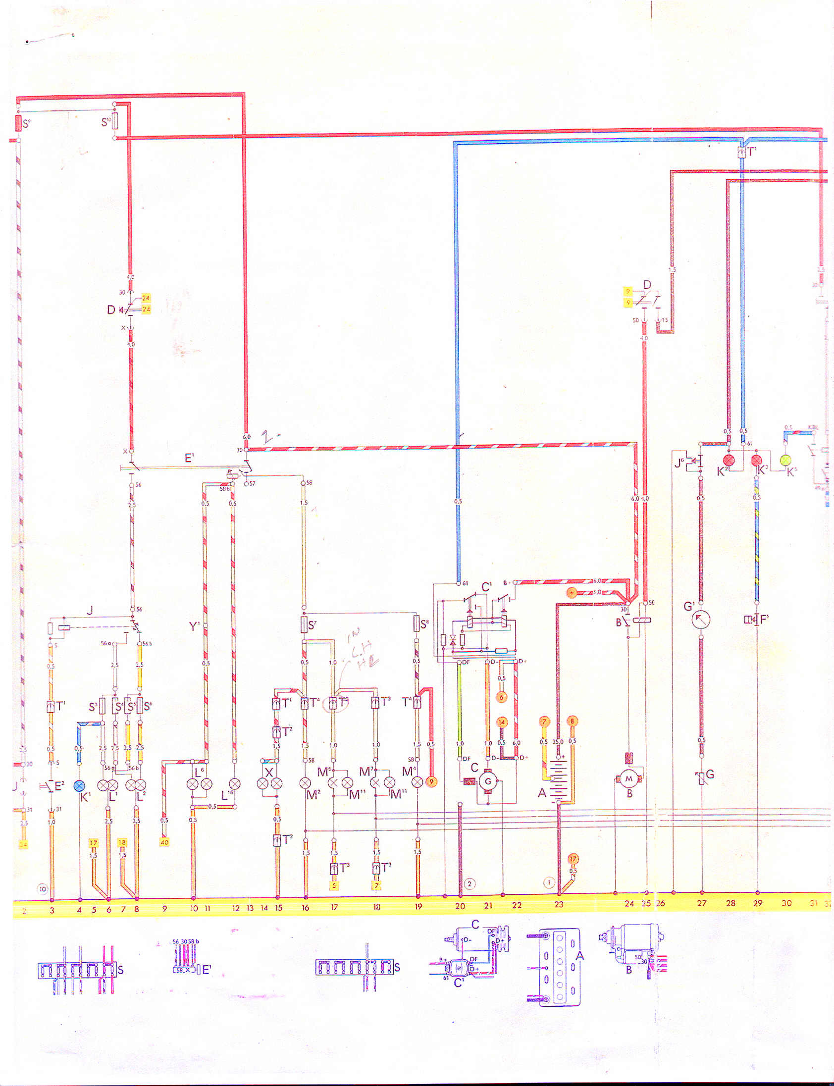 181 Vw Thing Wiring Diagram Start Building A Beetle Alternator Scematic Type Restoration Rh Vwthing Us 74